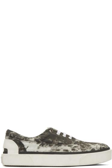 Lanvin - Grey Vulcanized Tie Dye Sneakers