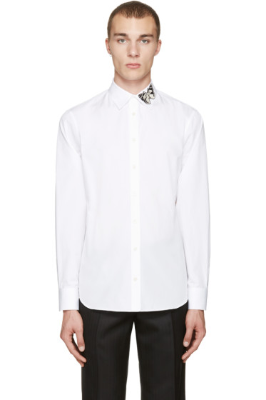 Alexander McQueen - White Butterfly Shirt