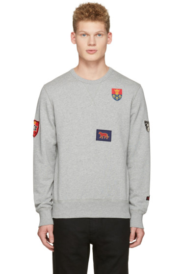 Alexander McQueen - Grey Patches Pullover