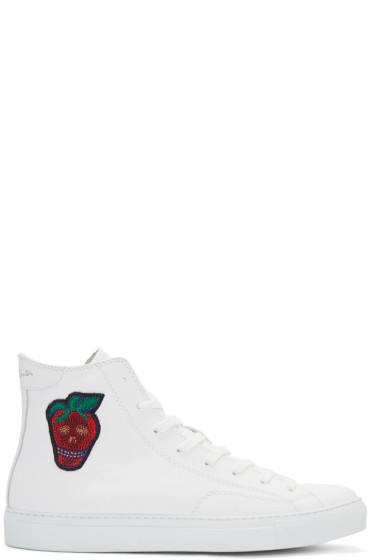 Paul Smith - White Destra High-Top Sneakers