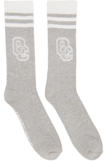 Opening Ceremony - Grey Logo Socks