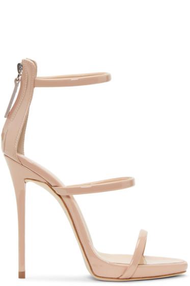 Giuseppe Zanotti - Pink Colline Heeled Sandals