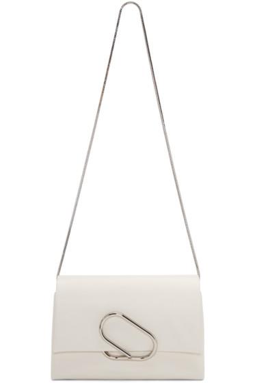 3.1 Phillip Lim - White Alix Flap Bag