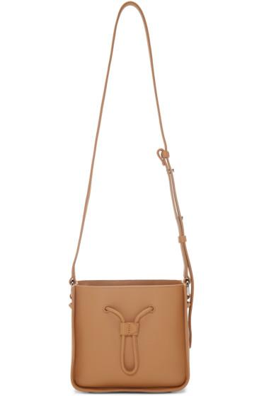 3.1 Phillip Lim - Tan Mini Soleil Bucket Bag
