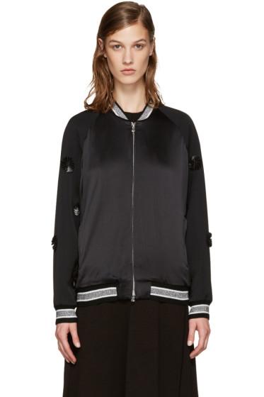 3.1 Phillip Lim - Black Tux Bomber Jacket