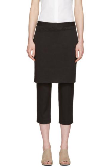 3.1 Phillip Lim - Black Apron Trousers
