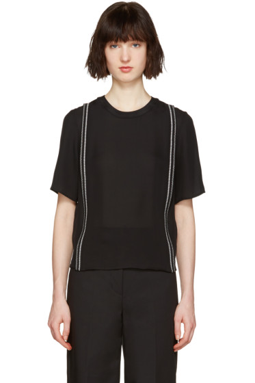 3.1 Phillip Lim - Black Embroidered Blouse