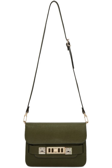 Proenza Schouler - Green Mini PS11 Classic Bag