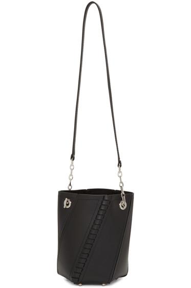 Proenza Schouler - Black Hex Bucket Bag