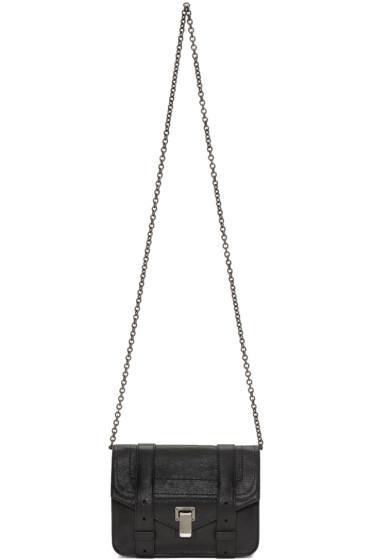 Proenza Schouler - Black PS1 Chain Wallet Bag