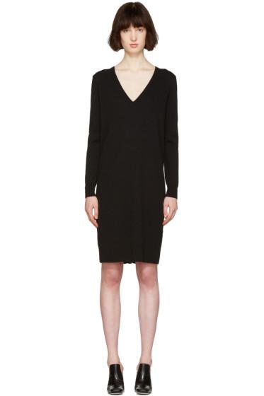 Proenza Schouler - Black Button Back Dress