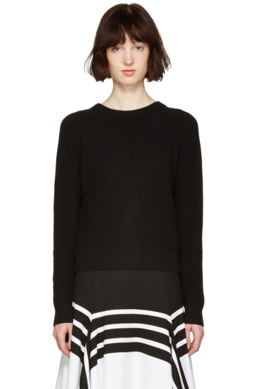 Proenza Schouler - Black Buttoned Sweater