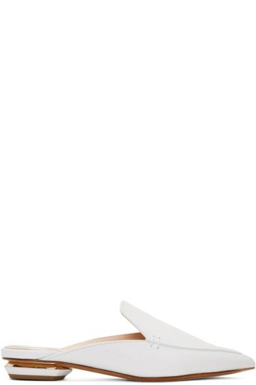 Nicholas Kirkwood - White Beya Slip-On Loafers