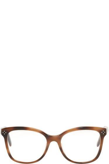 Chloé - Tortoiseshell Rectangular Glasses