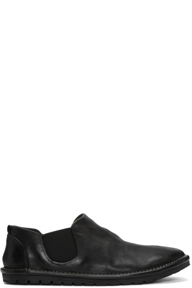 Marsèll - Black Gomma Sancrispa Slip-On Loafers