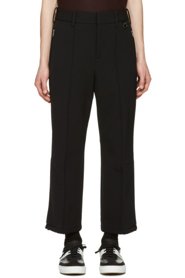 Neil Barrett - Black Flared Ski Trousers