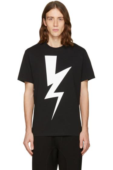 Neil Barrett - Black One Thunder T-Shirt
