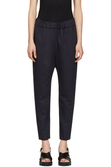 Marni - Navy Twill Trousers