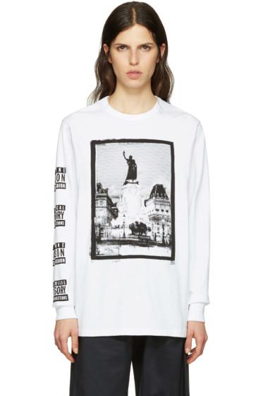 Maison Kitsuné - SSENSE Exclusive White Malson 18 Edition T-Shirt
