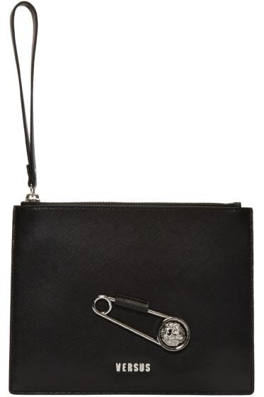 Versus - Black Pin Zip Pouch