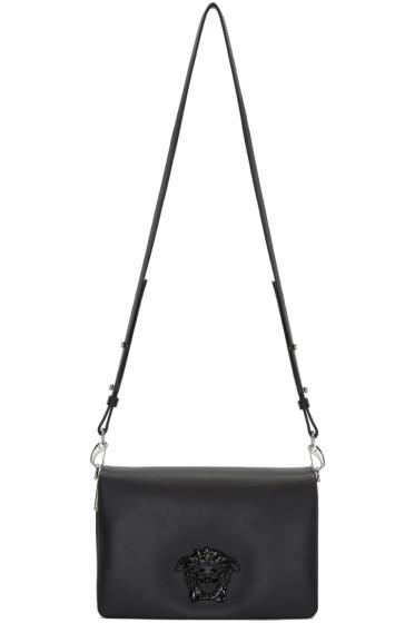 Versace - Black Palazzo Foldover Bag