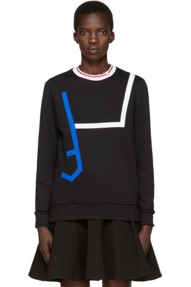 Versace - Black Contrast Collar Pullover