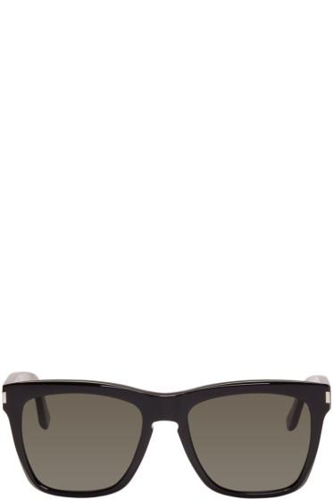 Saint Laurent - Black SL 137 Devon Sunglasses