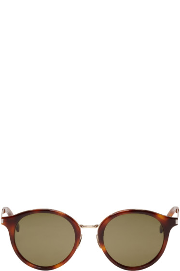 Saint Laurent - Tortoiseshell SL 57 Sunglasses