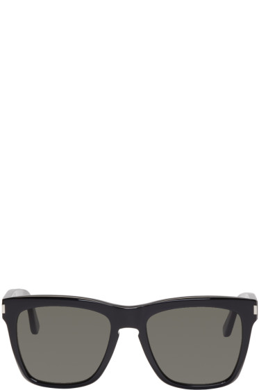 Saint Laurent - Black SL 137 Devon Sunglasses