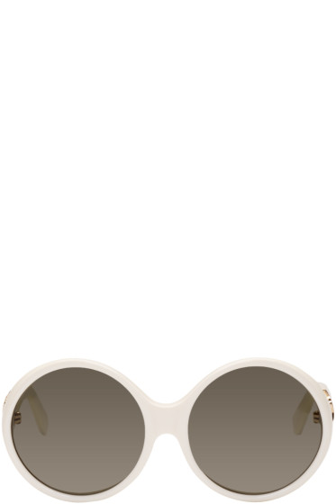 Saint Laurent - Ivory SL M1 Sunglasses