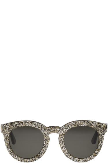 Saint Laurent - Black & Silver SL 102 Sunglasses