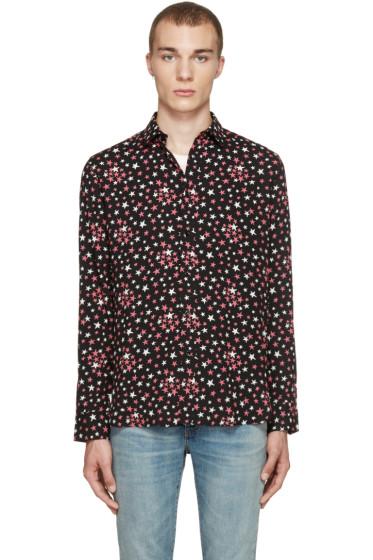 Saint Laurent - Black Stars Shirt
