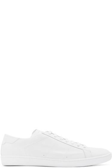 Saint Laurent - White Court Classic SL/01 Sneakers