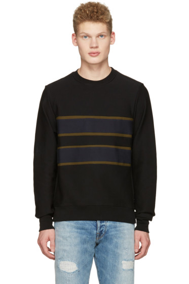 PS by Paul Smith - Black Stripe Pullover
