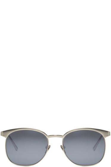 Linda Farrow Luxe - White Gold 346 Sunglasses