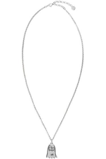 Gucci - Silver Gucci Ghost Necklace