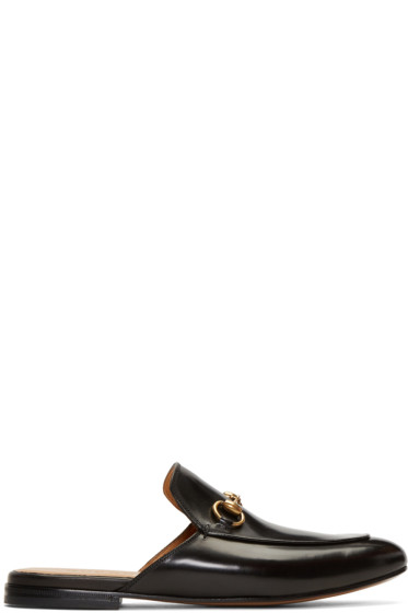 Gucci - Black Kings Slip-On Loafers