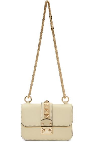 Valentino - Ivory Mini Lock Bag