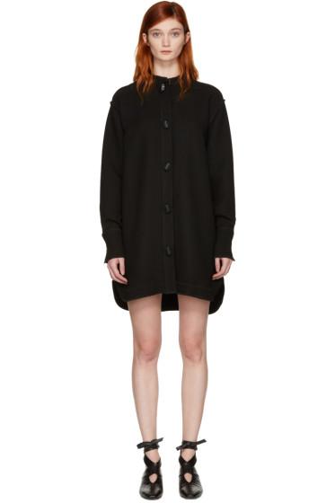 J.W.Anderson - Black Oversized Shirt Dress