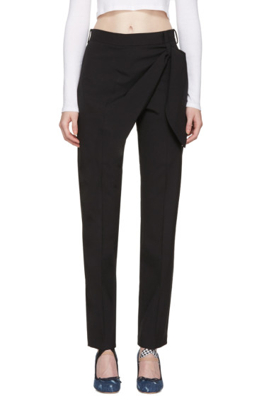 J.W.Anderson - Black Single Knot Trousers