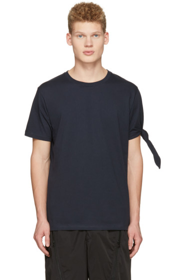 J.W.Anderson - Navy Single Knot T-Shirt