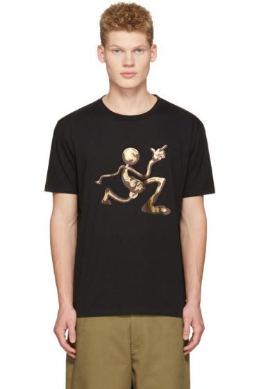 J.W.Anderson - Black Mercury Man T-Shirt