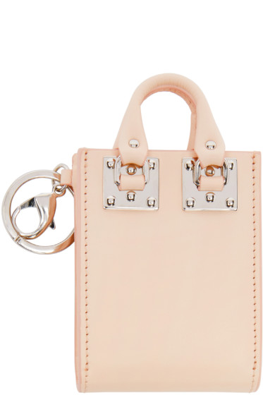 Sophie Hulme - Pink Albion Tote Keychain