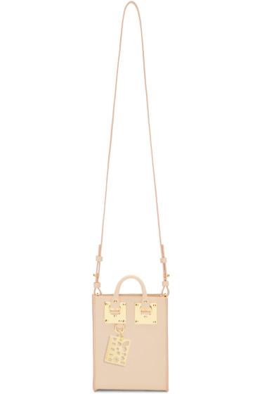 Sophie Hulme - SSENSE Exclusive Pink Nano Albion Tote Bag