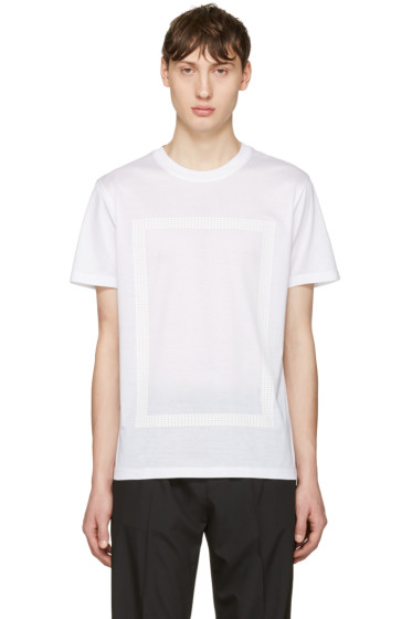 Calvin Klein Collection - White Pelzman T-Shirt
