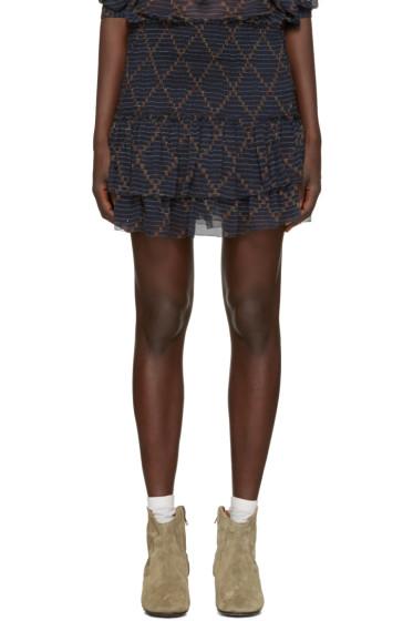 Isabel Marant Etoile - Navy Brinley Miniskirt