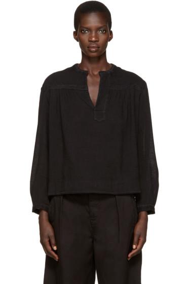 Isabel Marant Etoile - Black Alican Blouse