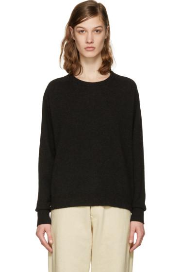 Isabel Marant - Black Clash Open Back Pullover