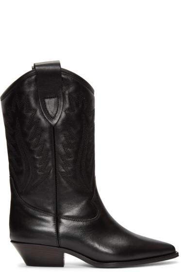 Isabel Marant - Black Dallin Cowboy Boots