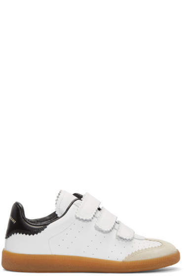 Isabel Marant - White Beth Sneakers